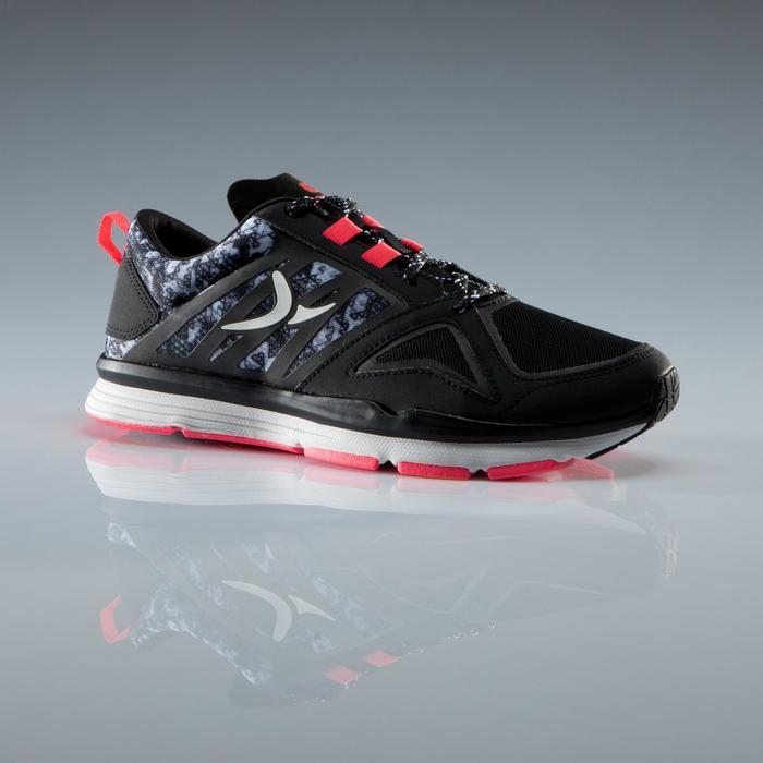 Chaussures fitness cardio 900 femme noir et - 1340889