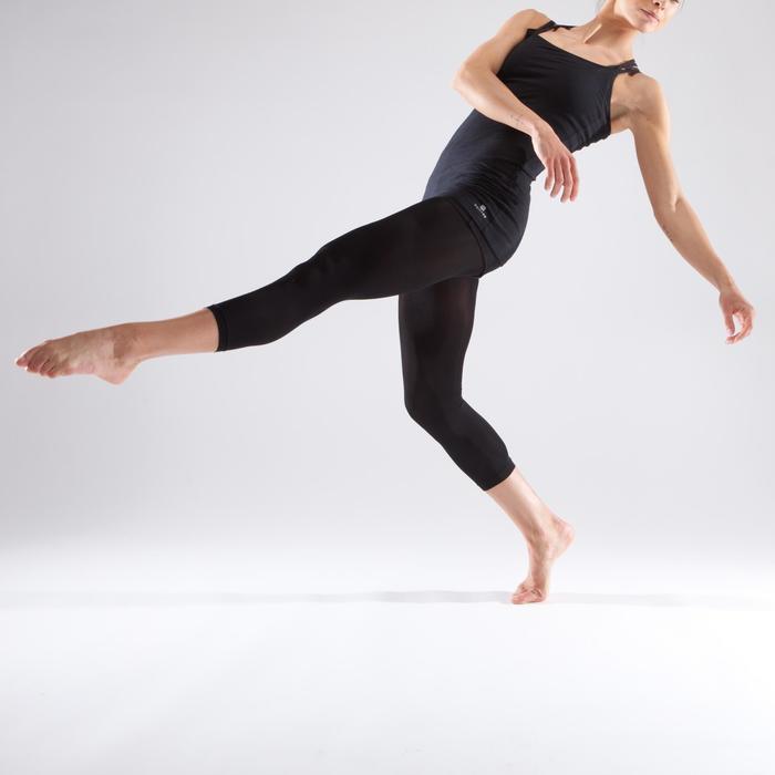 Tunique de danse à fines bretelles danse femme noire - 1340960