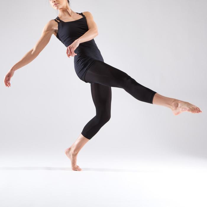 Tunique de danse à fines bretelles danse femme noire - 1340973