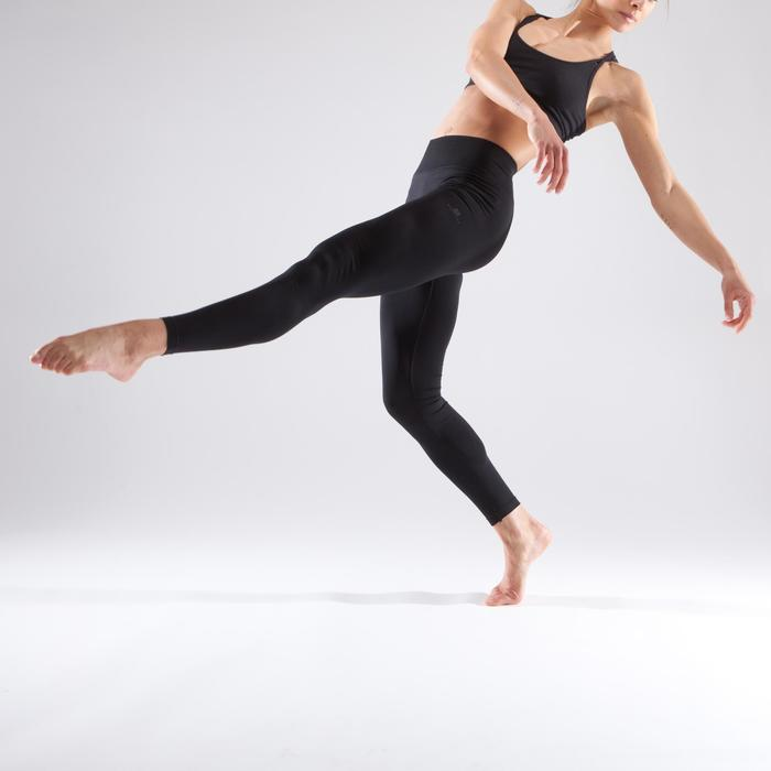 Women's Seamless Dance Leggings - Black