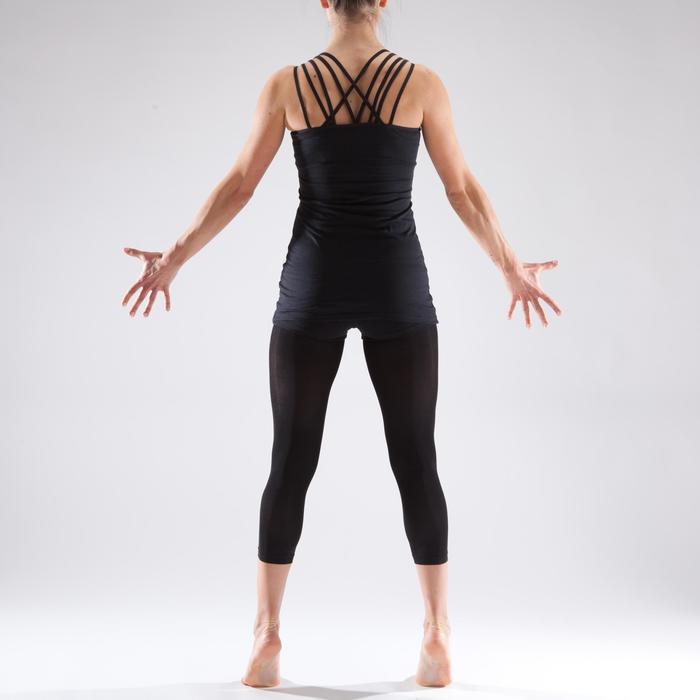 Tunique de danse à fines bretelles danse femme noire - 1340983