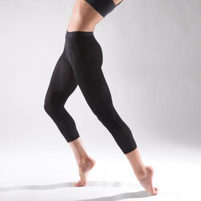 Girls' Footless Ballet and Modern Dance Tights - Black