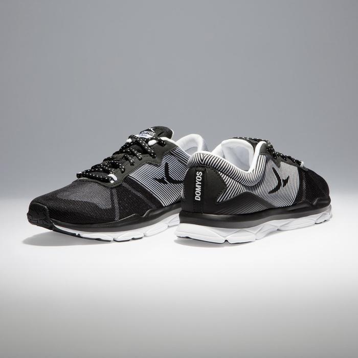 Chaussures fitness cardio-training 500 femme bleu et - 1341004