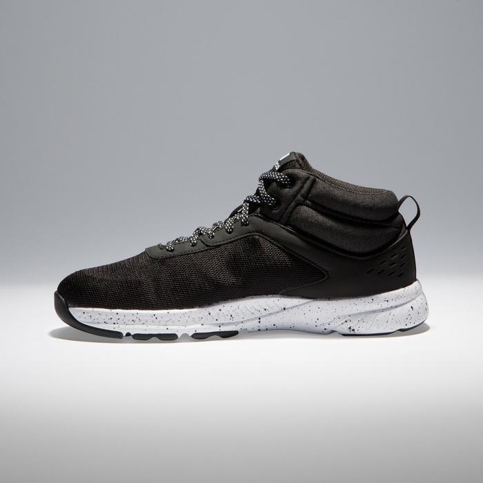 Chaussures fitness cardio-training 100 mid femme noir - 1341022