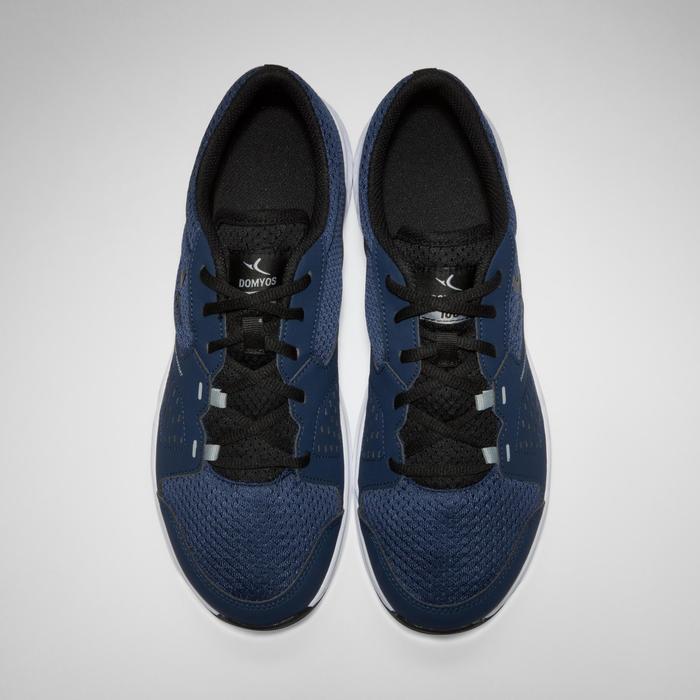 Chaussures fitness cardio-training 100 homme noir et bleu - 1341028