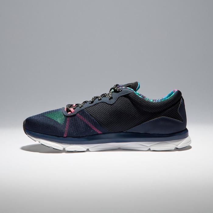 Chaussures fitness cardio-training 500 femme bleu et - 1341034