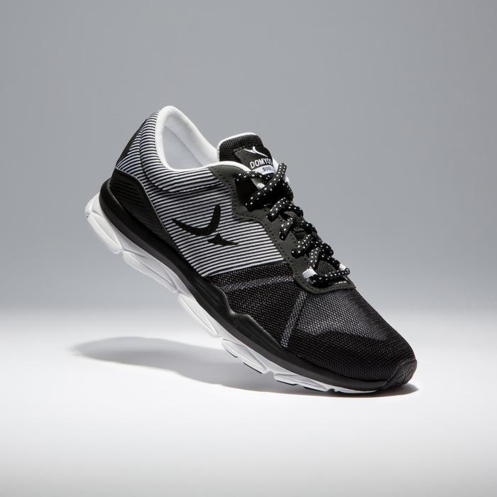 Chaussures fitness cardio-training 500 femme bleu et - 1341036