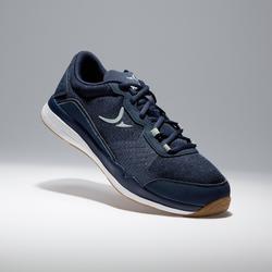 Cardiofitnessschoenen 500 voor heren blauw en grijs