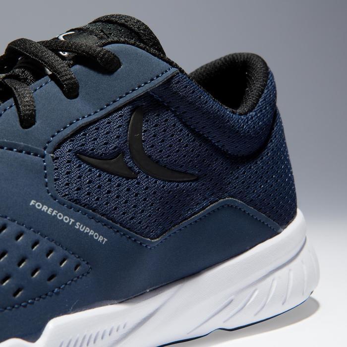 Chaussures fitness cardio-training 100 homme noir et bleu - 1341041