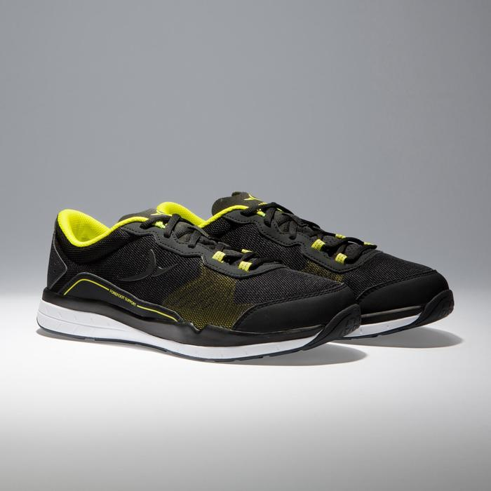 Chaussures fitness cardio-training 500 homme noir et - 1341056