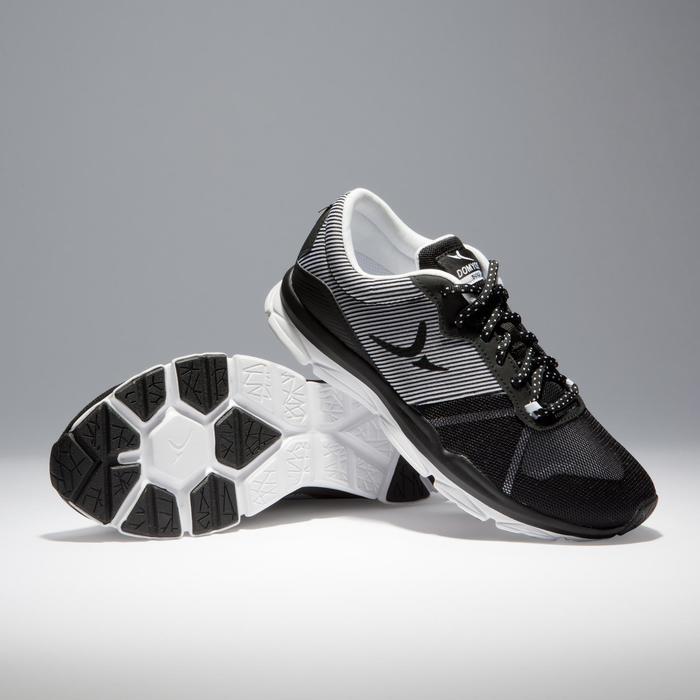 Chaussures fitness cardio-training 500 femme bleu et - 1341058