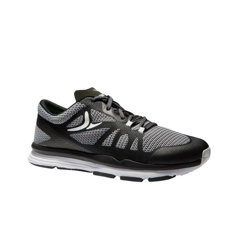 900 Women's Cardio Fitness Shoes - Black/White