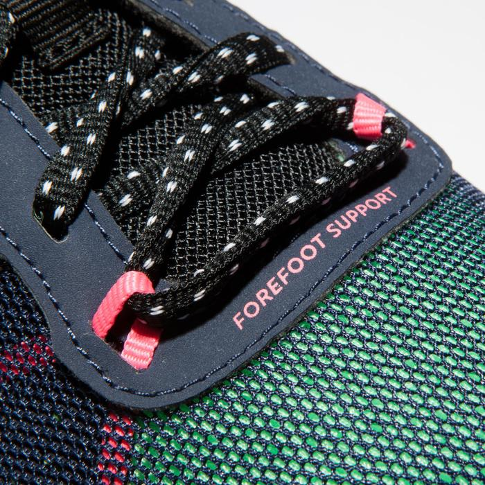 Zapatillas Fitness Cardio Dance Domyos 500 Adulto Azul/Verde
