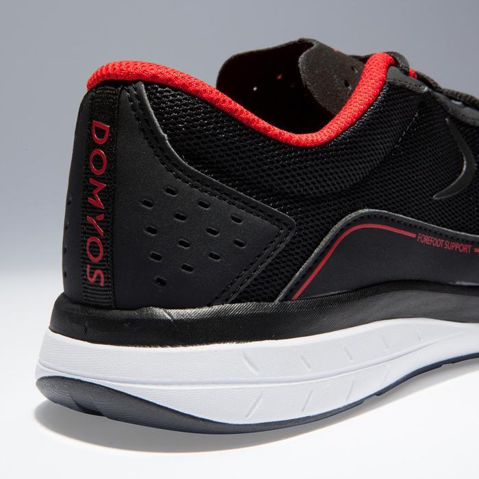 Cardiofitness schoenen voor heren 500 zwart en rood 2018
