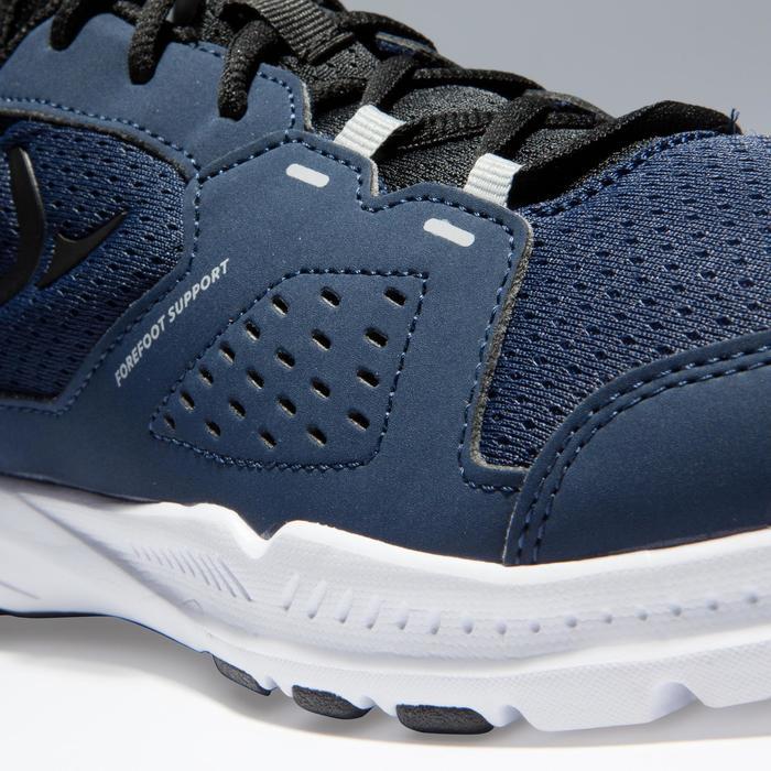 Chaussures fitness cardio-training 100 homme noir et bleu - 1341083