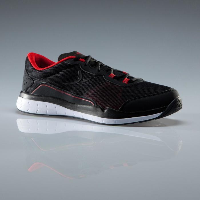 Chaussures fitness cardio-training 500 homme noir et - 1341096