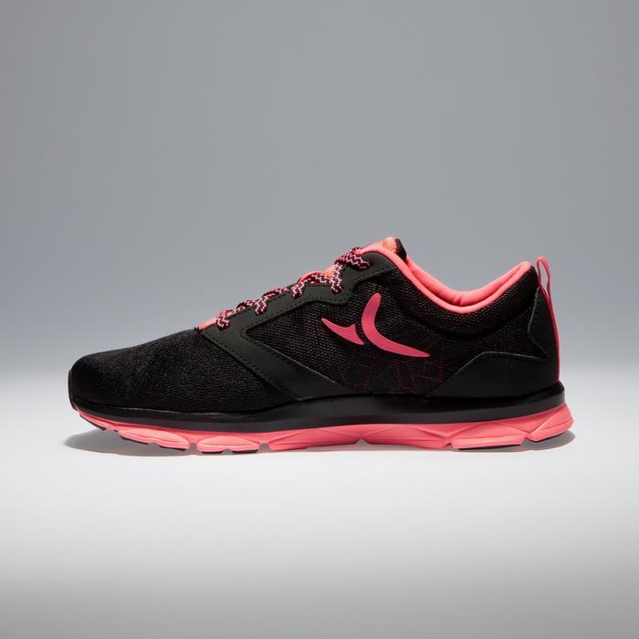 Chaussures fitness cardio-training 500 femme noir et - 1341108