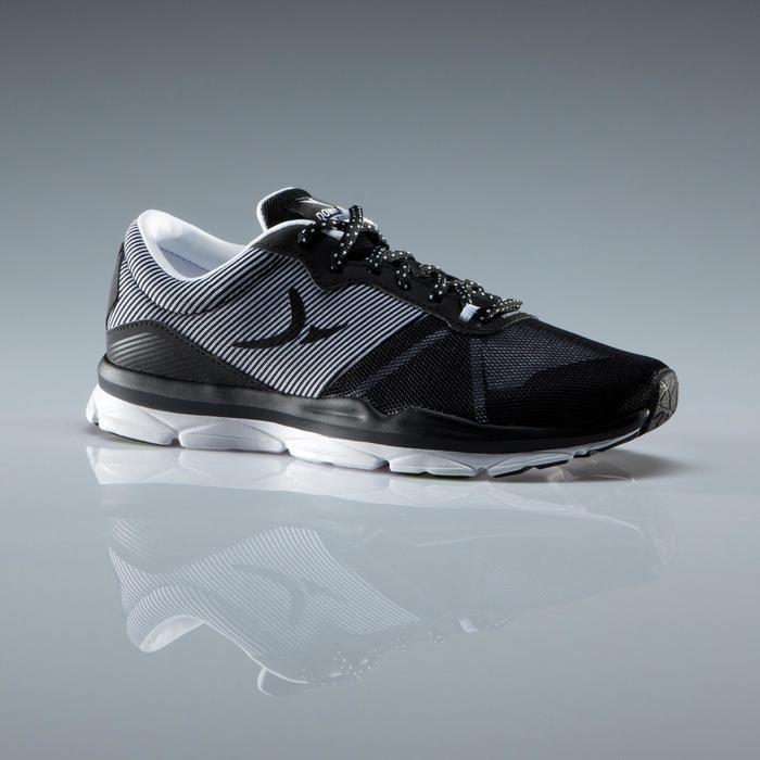 Chaussures fitness cardio-training 500 femme bleu et - 1341109
