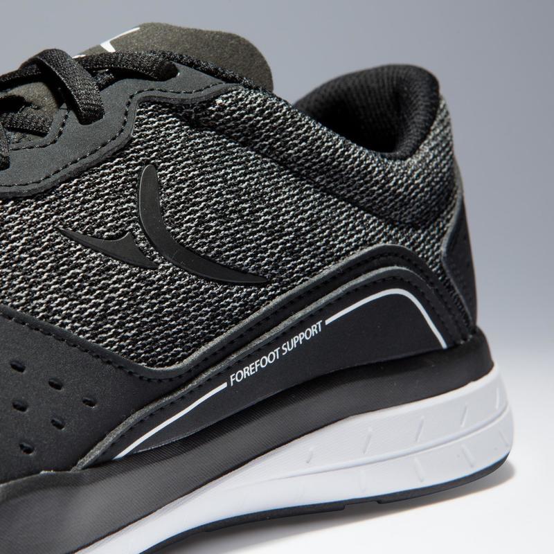 a6b6589abc6 500 Cardio Fitness Shoes - Black/Grey | Domyos by Decathlon
