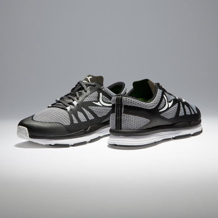 900 Women's Cardio Fitness Shoes - Black/White
