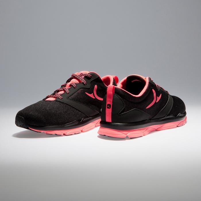 Chaussures fitness cardio-training 500 femme noir et - 1341118