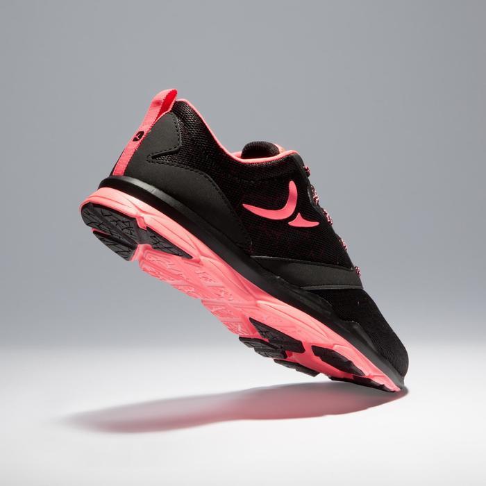 Chaussures fitness cardio-training 500 femme noir et - 1341121