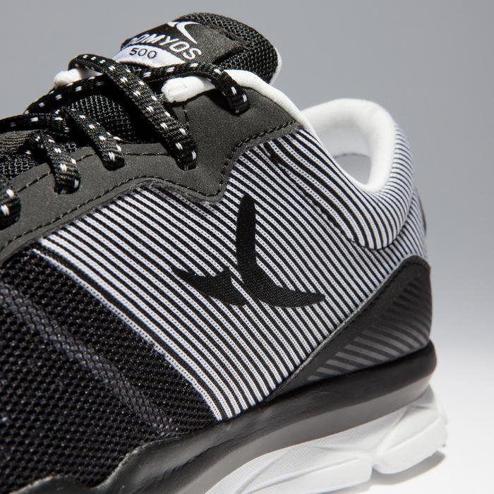 Chaussures fitness cardio-training 500 femme bleu et - 1341131