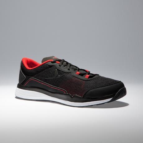 HerenZwartroodDomyos 500 Schoenen Voor Fitness Cardiotraining A35Rj4L