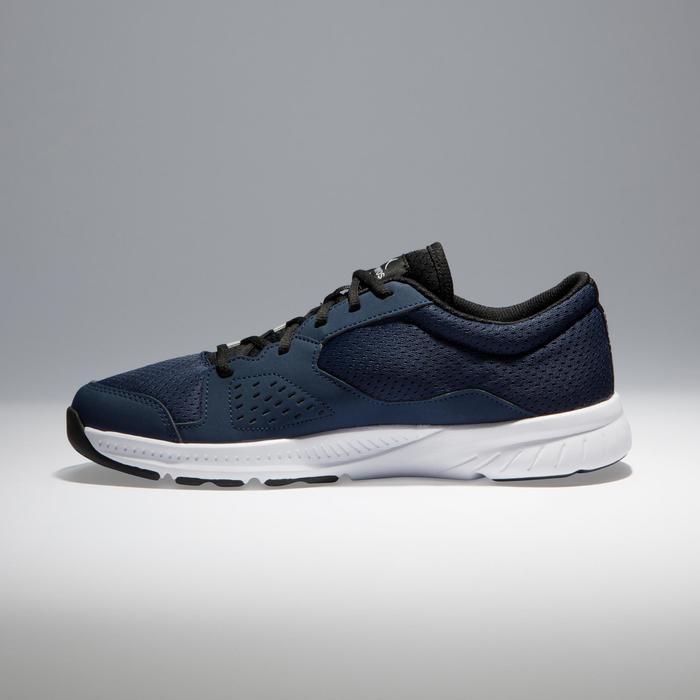 Chaussures fitness cardio-training 100 homme noir et bleu - 1341139