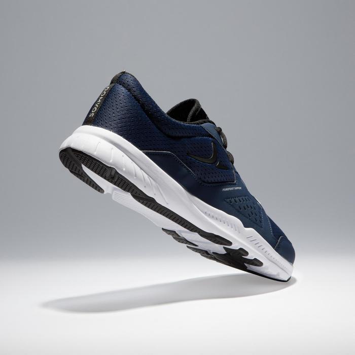 Chaussures fitness cardio-training 100 homme noir et bleu - 1341145