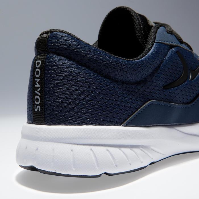 Chaussures fitness cardio-training 100 homme noir et bleu - 1341148