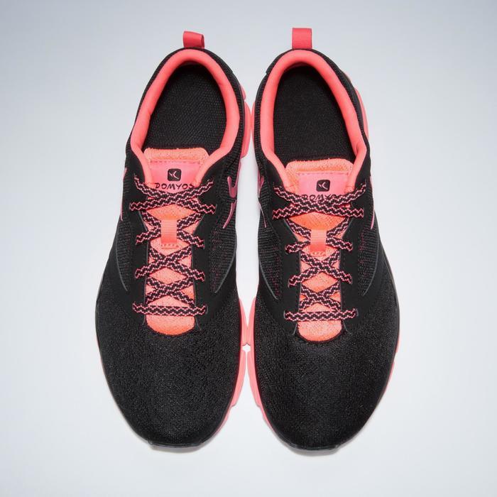 Chaussures fitness cardio-training 500 femme noir et - 1341154