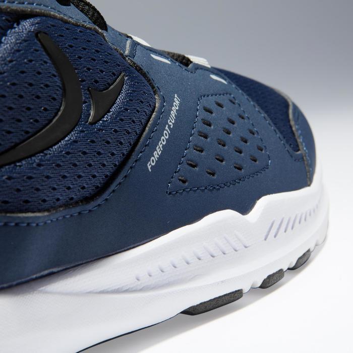 Zapatillas gimnasio Cardio Fitness Domyos FSH 100 hombre negro azul