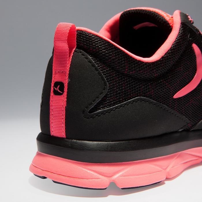 Chaussures fitness cardio-training 500 femme noir et - 1341161