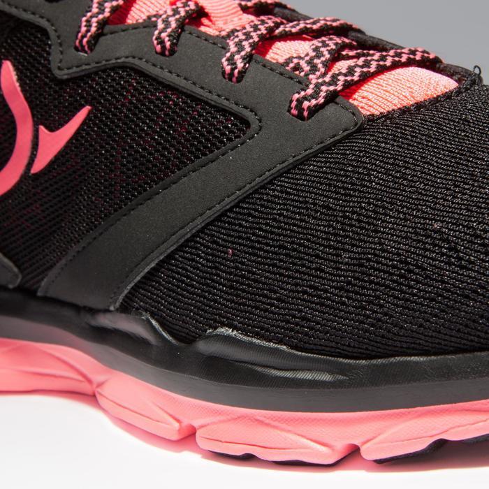 Chaussures fitness cardio-training 500 femme noir et - 1341163