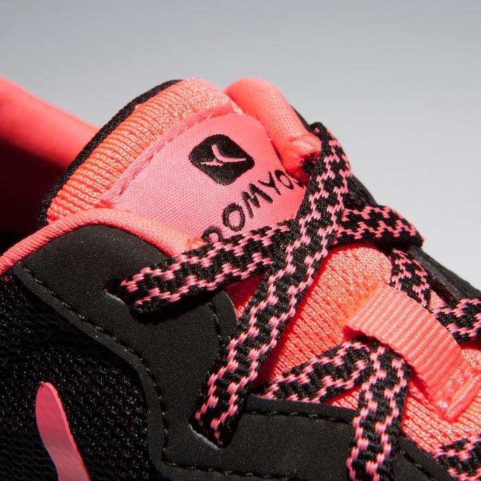 Chaussures fitness cardio-training 500 femme noir et rose