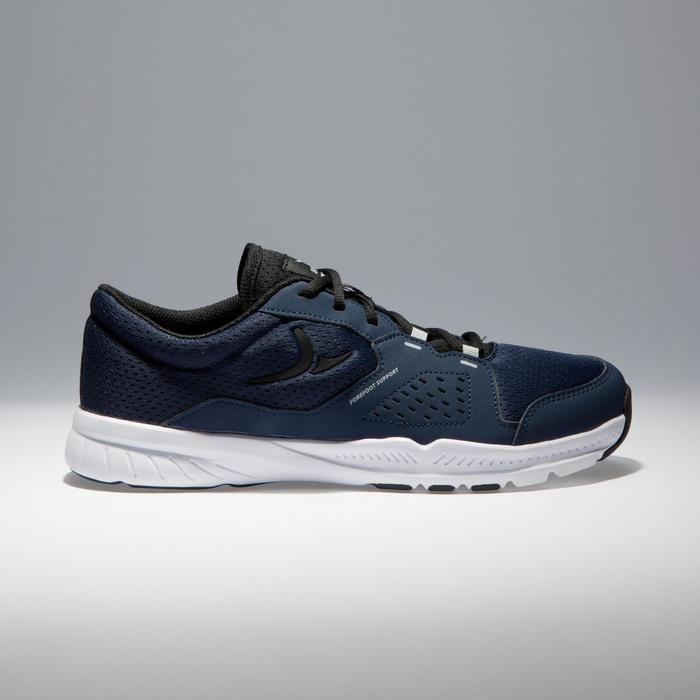 Chaussures fitness cardio-training 100 homme noir et bleu - 1341177