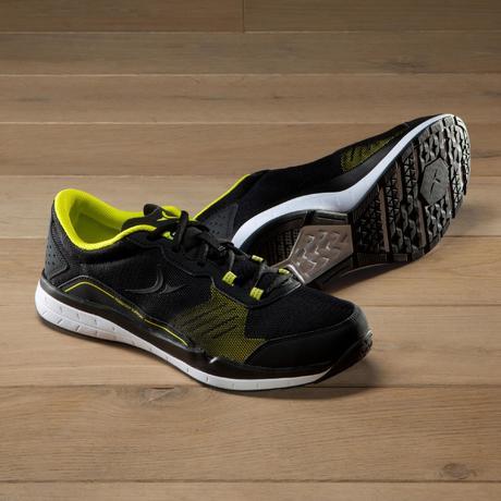 d6bc8380d8 Chaussures fitness cardio 500 homme noir et jaune   Domyos by Decathlon
