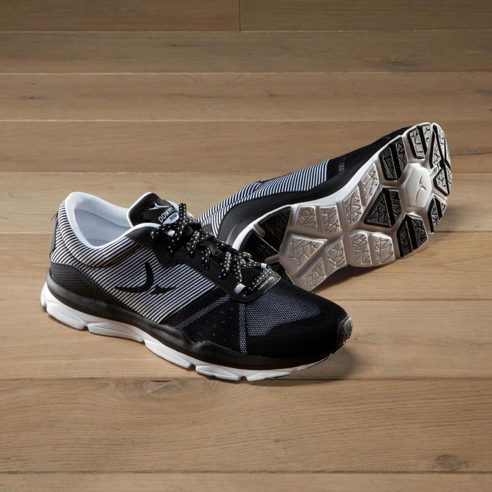 Chaussures fitness cardio-training 500 femme bleu et - 1341195