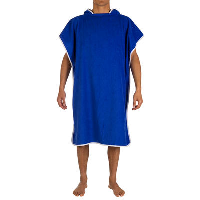 ADULT'S PON PONCHO - Blue