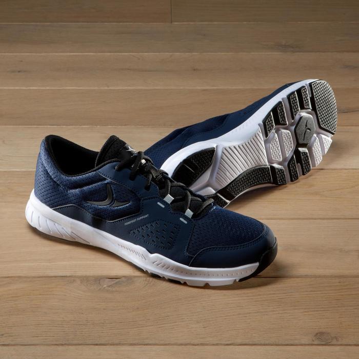 Chaussures fitness cardio-training 100 homme noir et bleu - 1341201