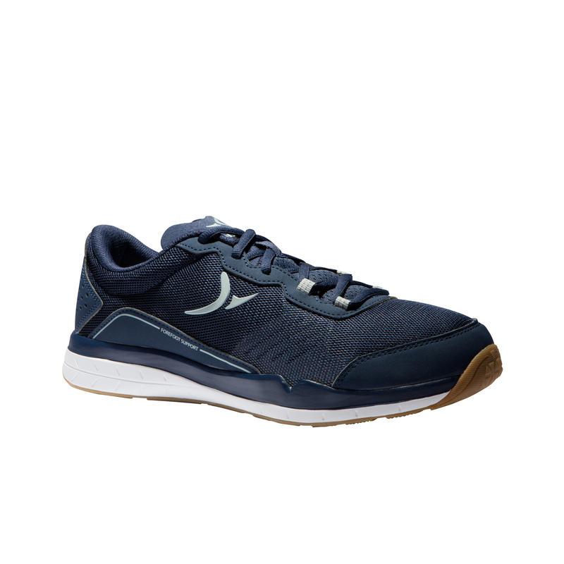 67f3159b1 Zapatillas fitness cardio-training 500 hombre Azul y Gris
