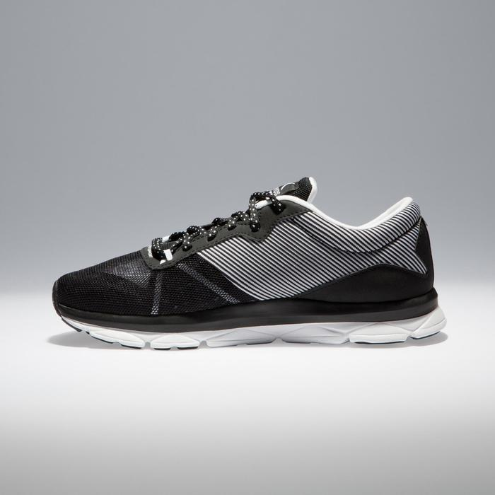 Chaussures fitness cardio-training 500 femme bleu et - 1341207