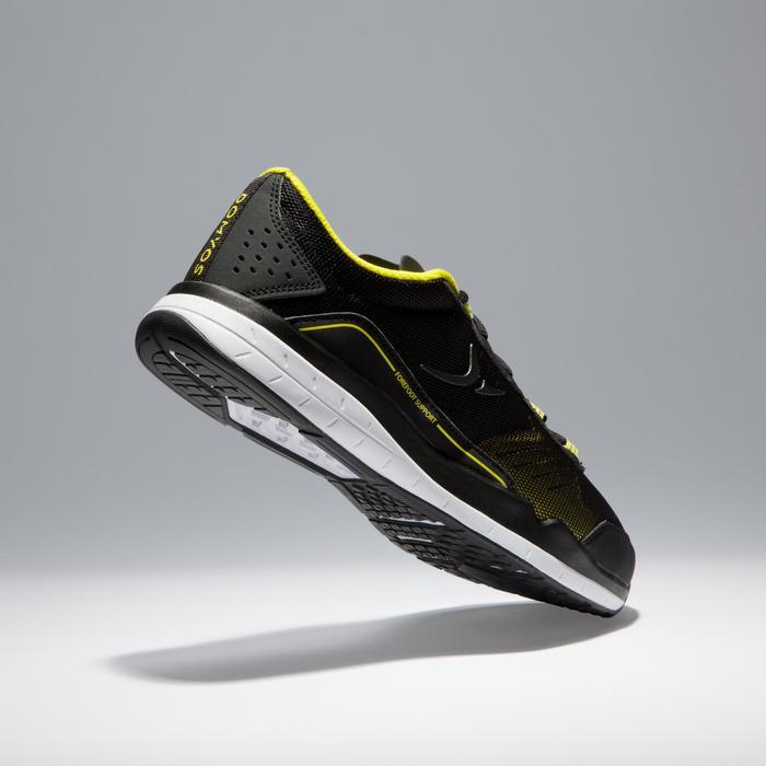 Chaussures fitness cardio-training 500 homme noir et - 1341211