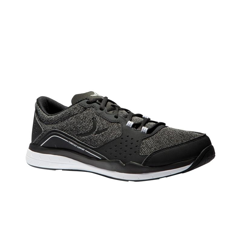 5153be24d0c0b 500 Cardio Fitness Shoes - Black Grey