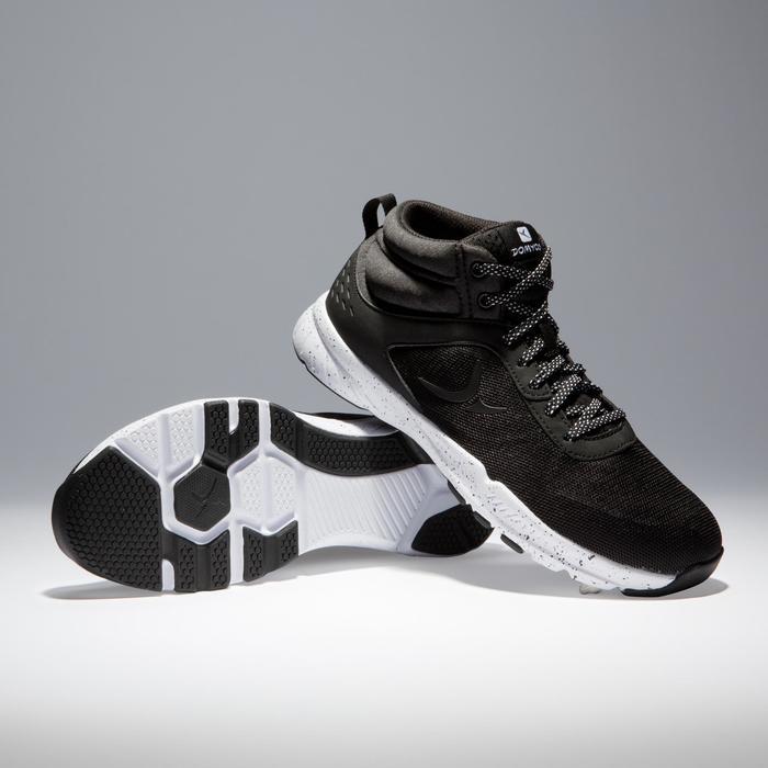 Chaussures fitness cardio-training 100 mid femme noir - 1341221
