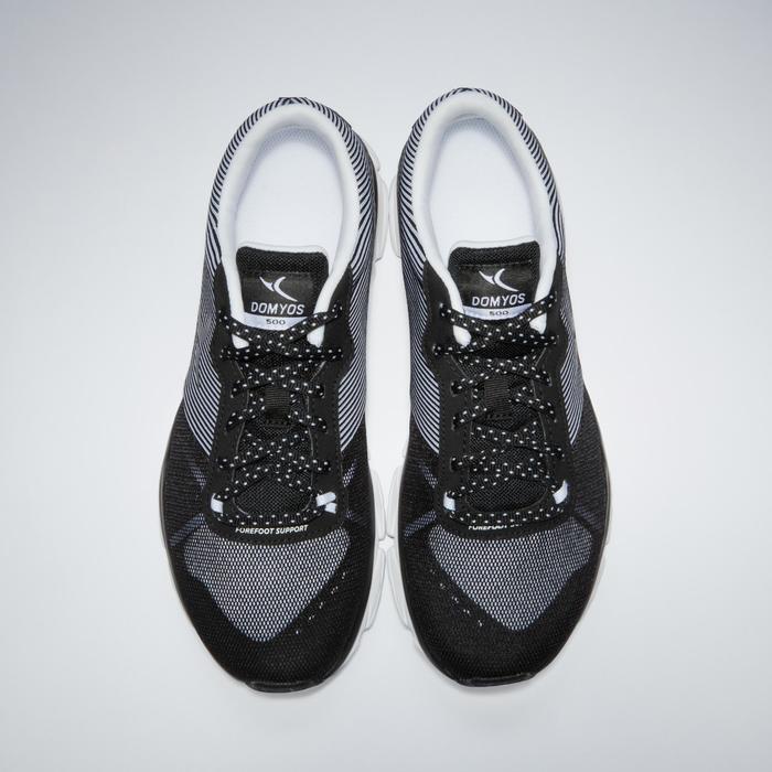 Chaussures fitness cardio-training 500 femme bleu et - 1341224