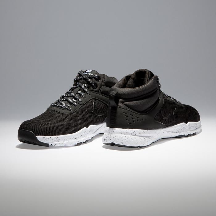 Chaussures fitness cardio-training 100 mid femme noir - 1341230
