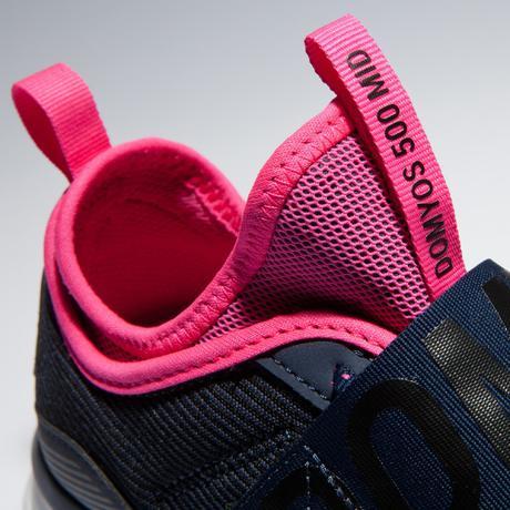 Кроссовки для фитнеса и кардиотренировок женские 500 MID   Domyos by ... 0ed3703cbe9