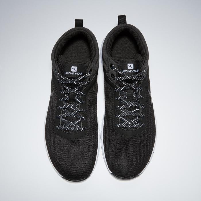 Chaussures fitness cardio-training 100 mid femme noir - 1341248
